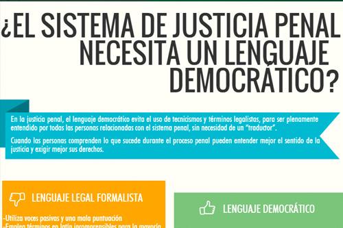 ¿El Sistema de Justicia Penal necesita un lenguaje democrático?