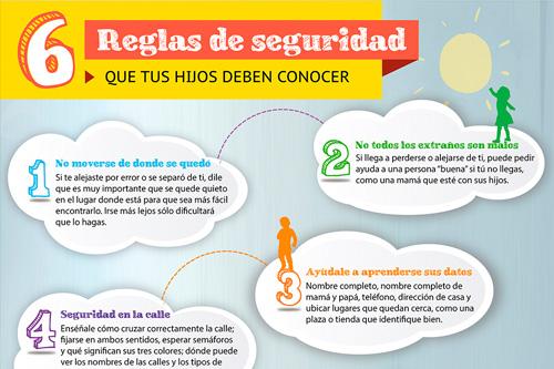 6 reglas de seguridad que tus hijos deben conocer